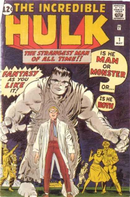 The ncredible Hulk #1 okładka