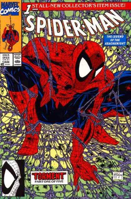spider-man #1 3D widok z boku